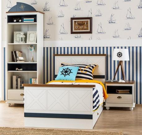 Admiral - łóżko z szufladą...