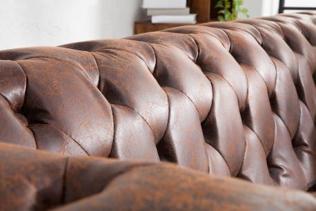 Sofa Chesterfield 2 skóra...