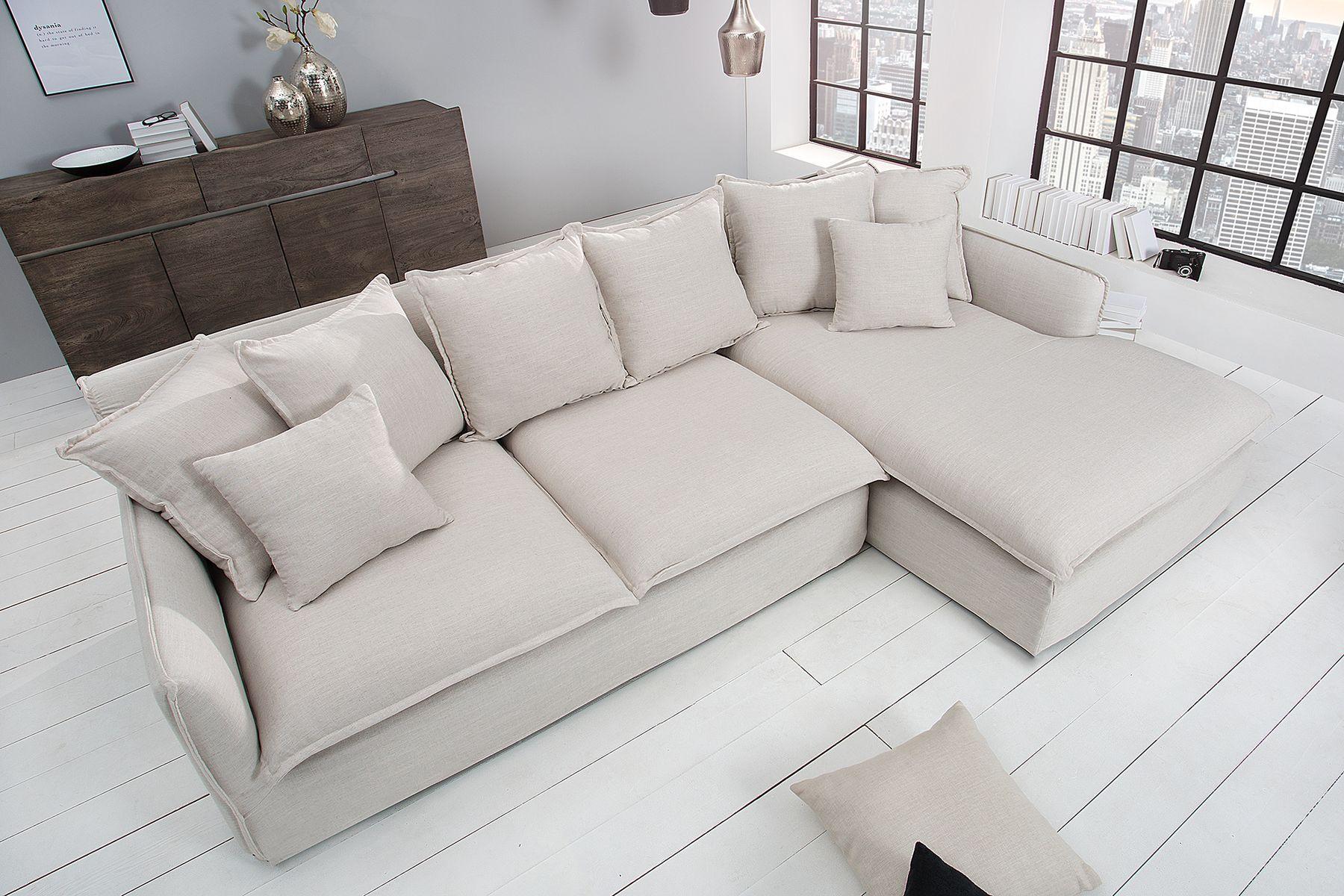 Sofa narożna Heaven len...