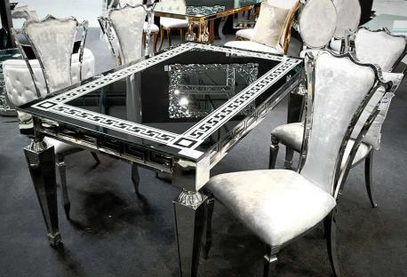 Krzesło Empire Silver White