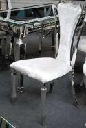 Krzesło Empire Silver Grey
