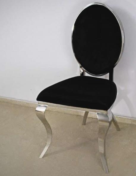 Krzesło Modern Silver V Black