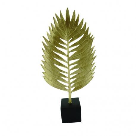 Figura złoty liść