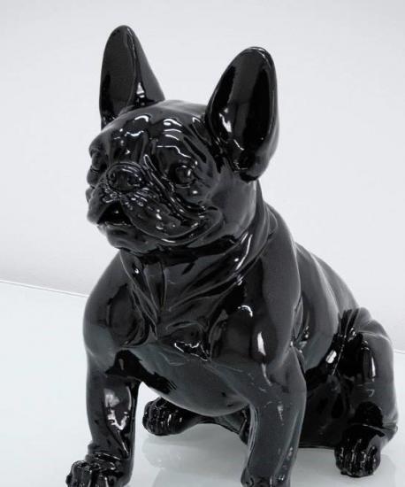 Figura buldog francuski czarny
