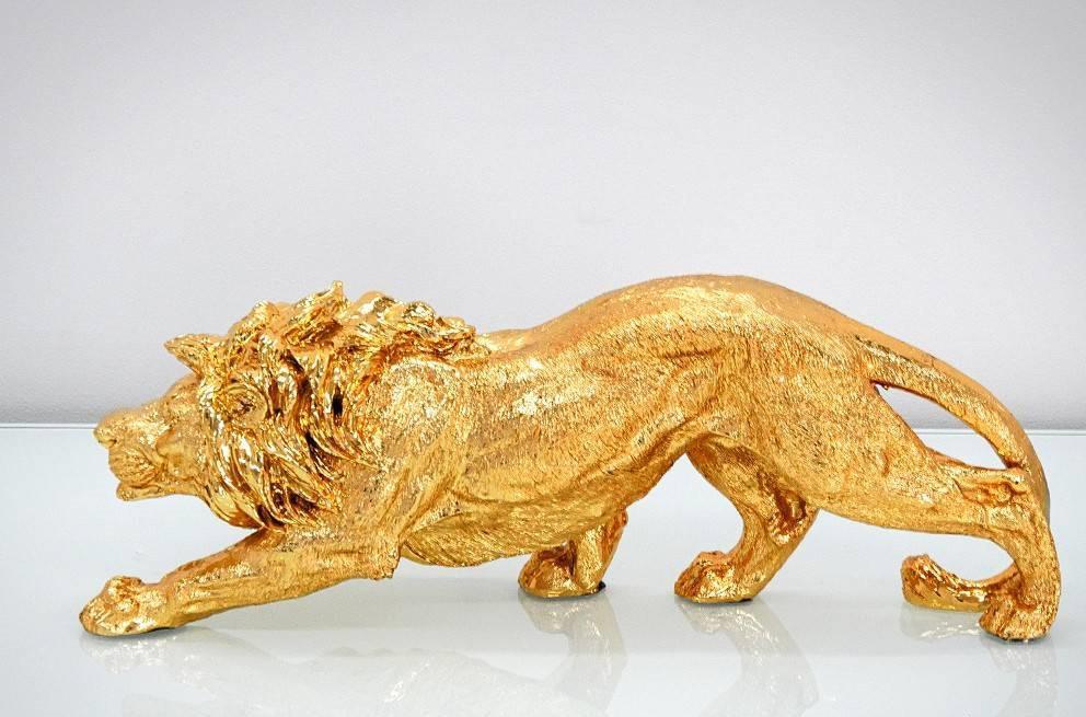Figura lew złoty