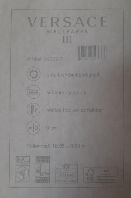 TAPETA VERSACE BŁYSK / 343277