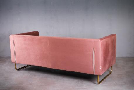 Sofa Richmond 3 różowa / GL