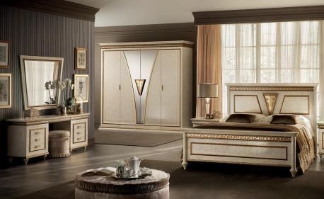 Włoskie łóżko Queen Size...