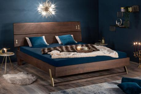 Łóżko Mammut 180 ciemna...