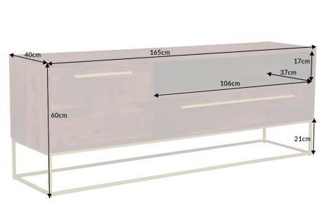 SZAFKA RTV Straight 165cm...