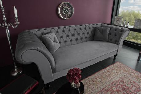 Sofa Euphoria srebrnoszary...