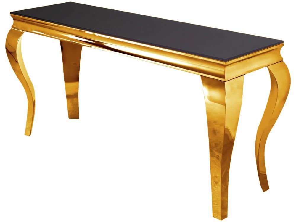 KONSOLA MODERN GOLD BLACK