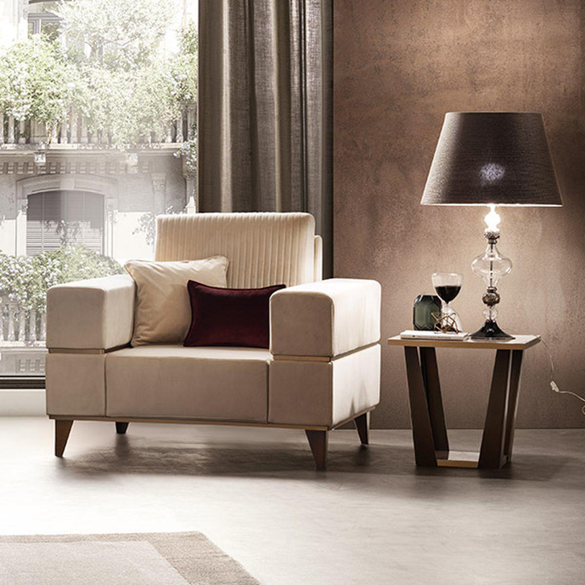 Włoski fotel Ambra