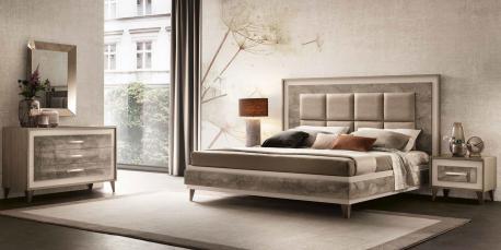 Włoskie łóżko Ambra single...