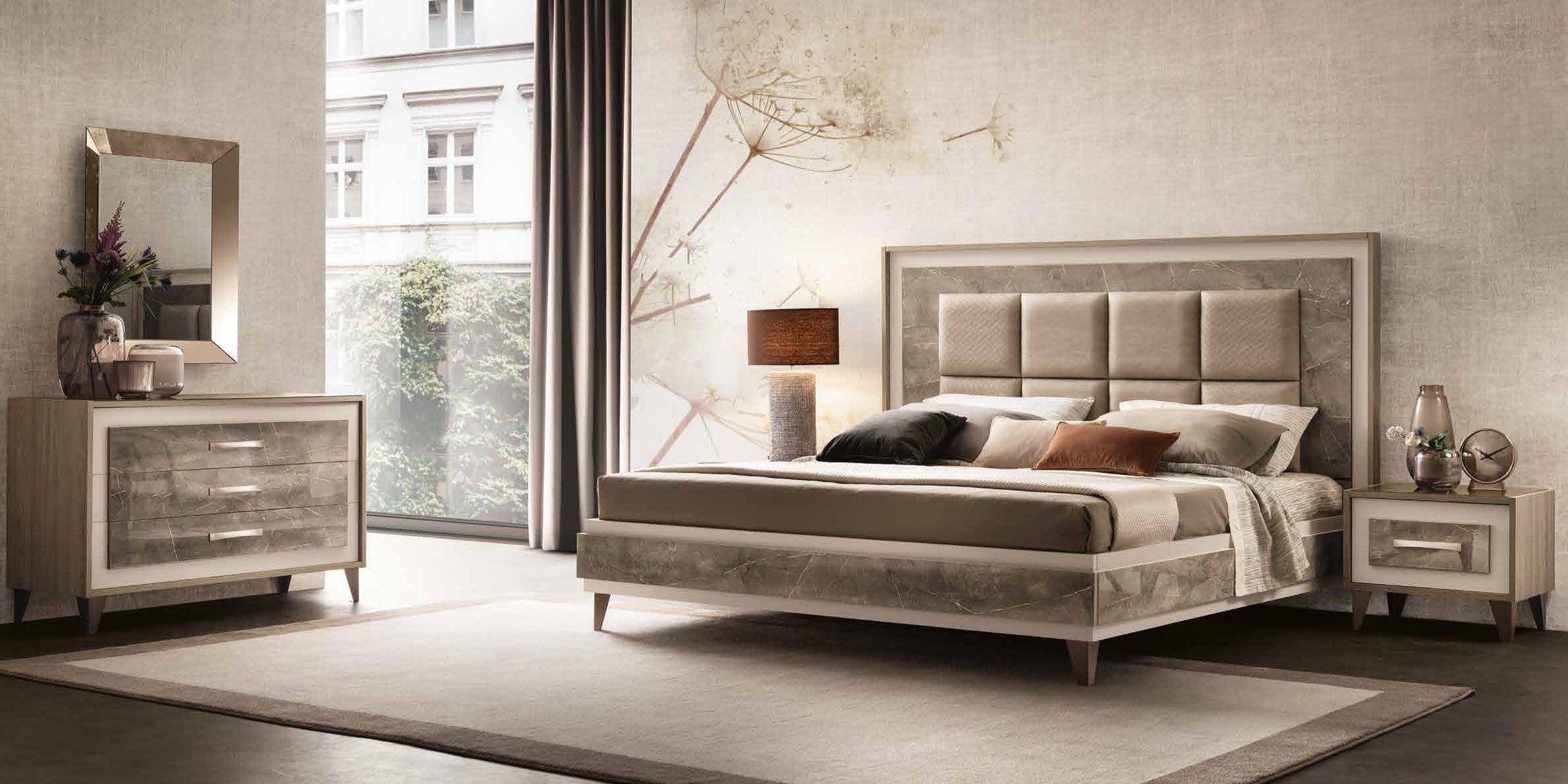 Włoskie łóżko Ambra King...