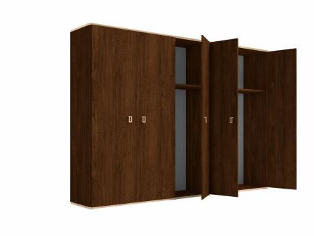 Włoska szafa 6 drzwiowa Eva...