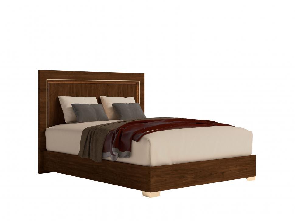 Włoskie łóżko 154 cm z...