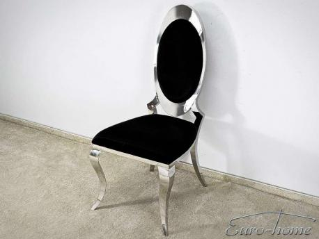 Krzesło Modern silver black