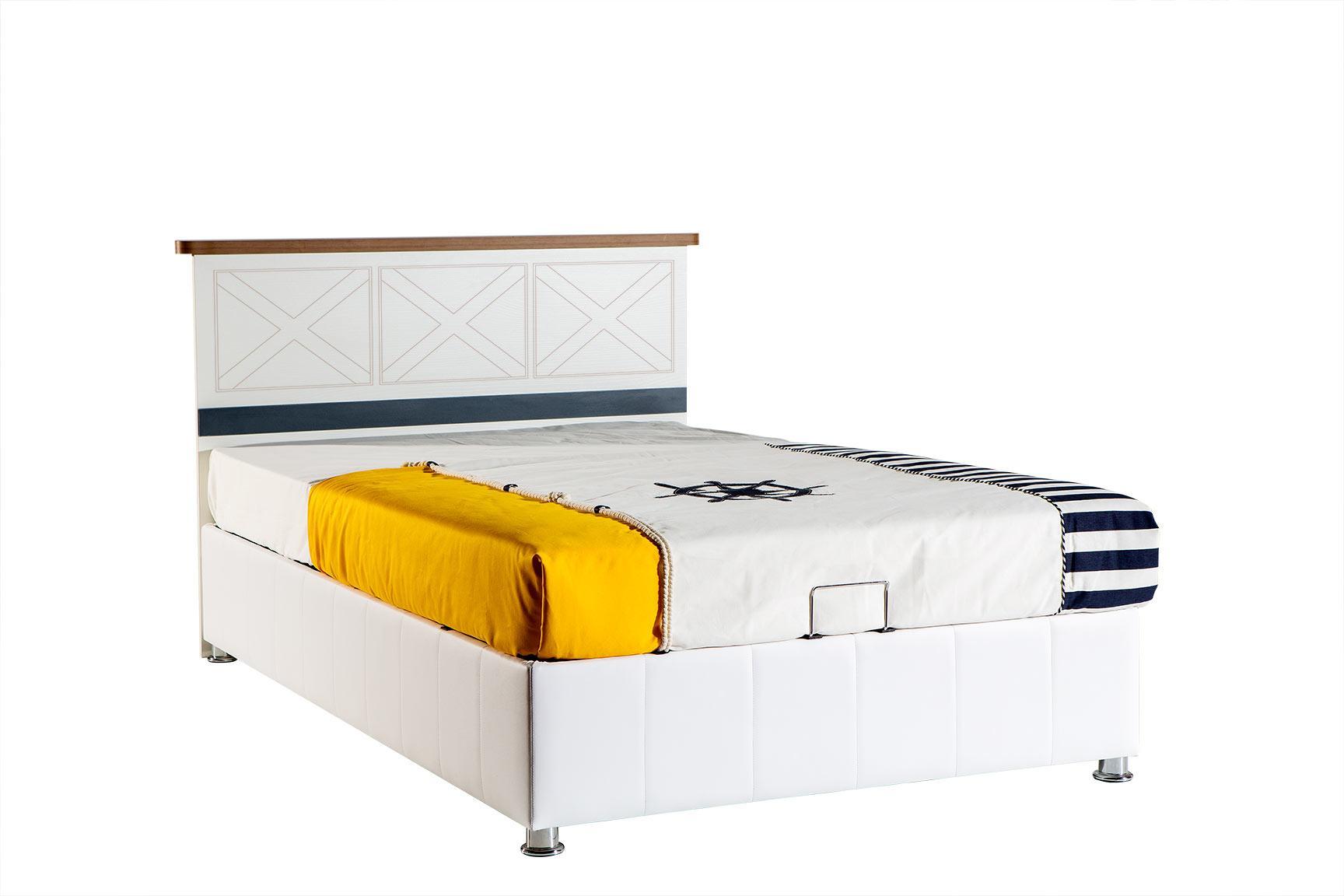 Admiral - łóżko ze skrzynią...